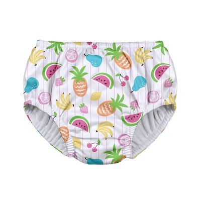 Baby Girls' Fruit Pull-up Reusable Swim Diaper