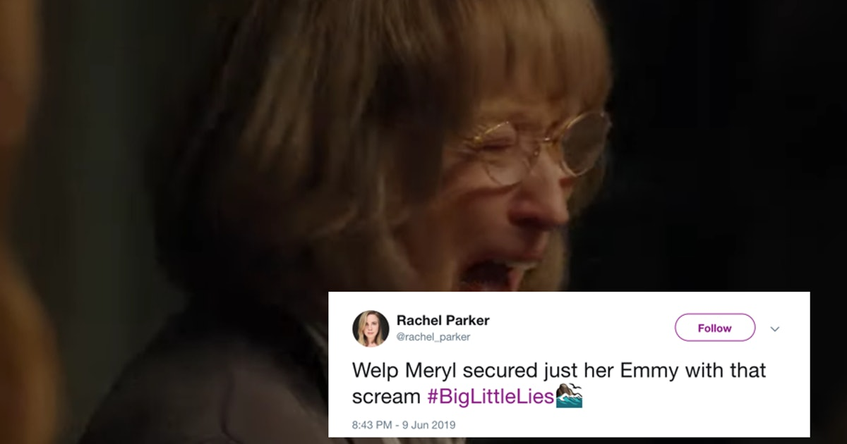15 Tweets About Meryl Streep's 'Big Little Lies' Scream That Are A Full Mood