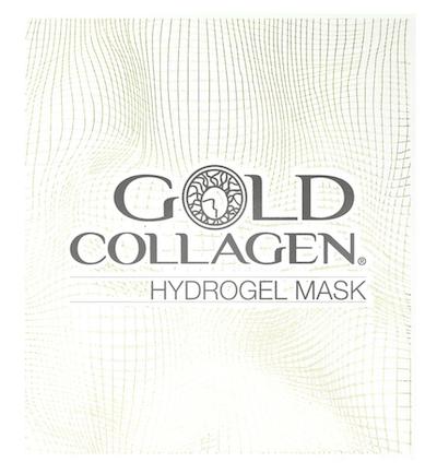 Gold Collagen Hydrogel Face Masks - 4 masks