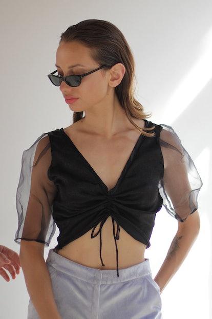 Delmira Silk Top