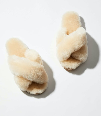 Mayberry Fuzzy Slippers