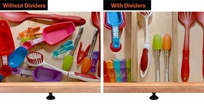 Bambusi Drawer Dividers (4 Pack)