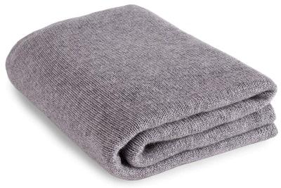 Love Cashmere Luxurious 100% Cashmere Travel Wrap Blanket
