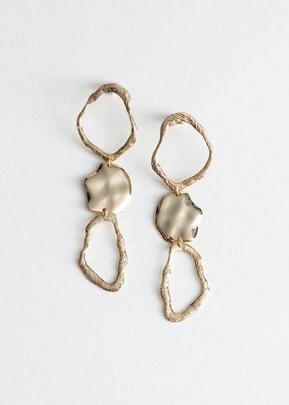 Sculptural Hanging Earrings