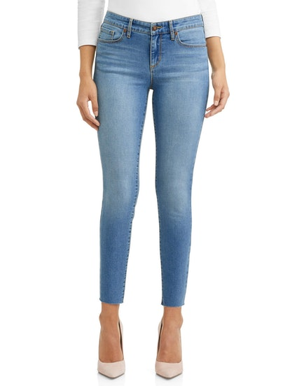Sofía Skinny Mid Rise Soft Stretch Ankle Jean Women's