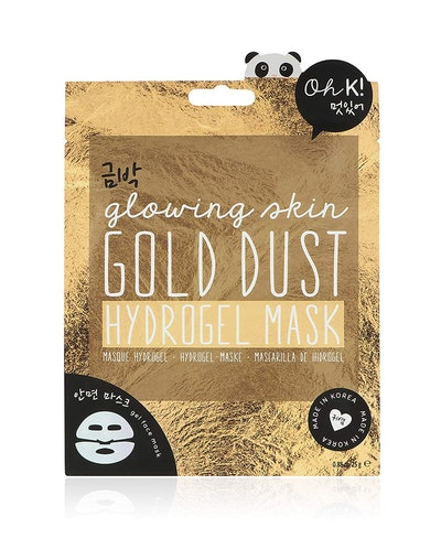 Oh K! Hydrating Gel Face Mask Sheet, Gold Dust