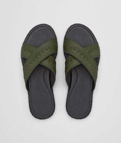 Plage Crisscross Sandal In Calf