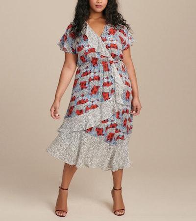 Reina Combo Dress