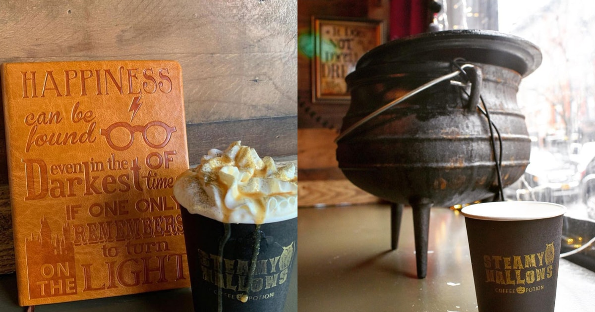 Steamy Hallows' 'Harry Potter' Coffee Shop In NYC Will Give You A Magical Caffeine Boost