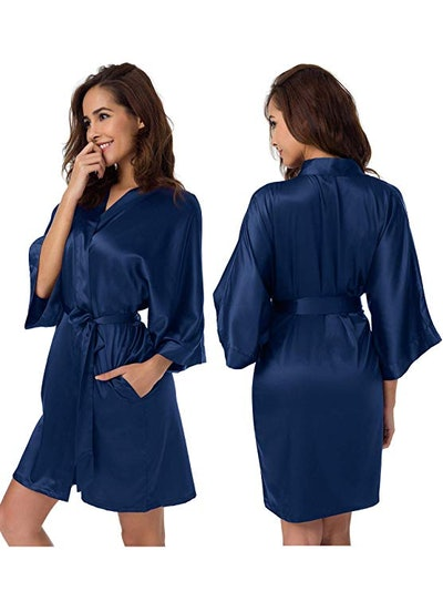 SIORO Satin Robe