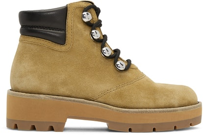 Beige Dylan Hiking Boots