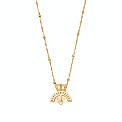 Gold Sol Cara Necklace