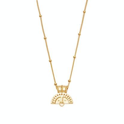 Gold Sol Cara Necklace