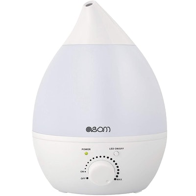 ASOM Ultrasonic Cool Mist Humidifier and Aroma Oil Diffuser