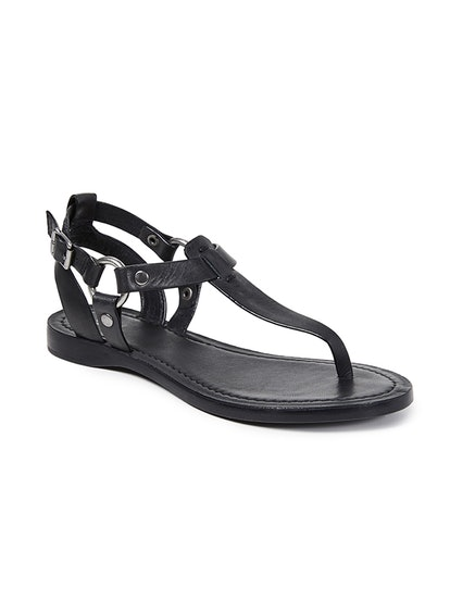 Cindy Crawfords Metallic Sandals Are Right In Line With