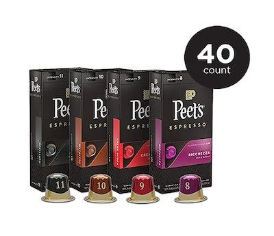 Peet's Coffee Espresso Capsules Variety Pack