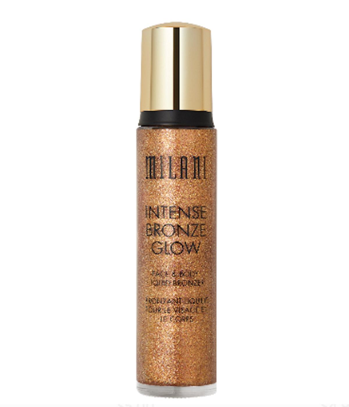 MILANI Intense Glow Liquid Bronzer, Shimmering Bronze
