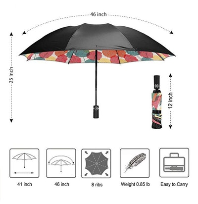 Lanbrella Compact Folding Reverse Umbrella