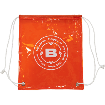Beyhive PVC Drawstring Bag