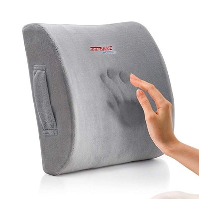ZIRAKI Memory Foam Lumbar Cushion