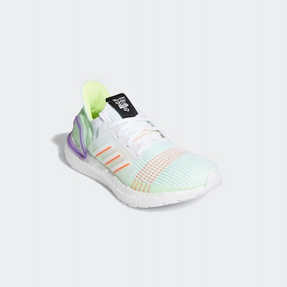 Ultraboost 19 Shoes in Cloud White/Solar Red/Solar Yellow