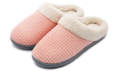 UltraIdeas Fleece Memory Foam Slippers