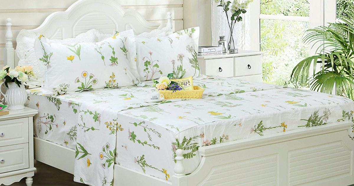 The 8 Best Floral Sheets