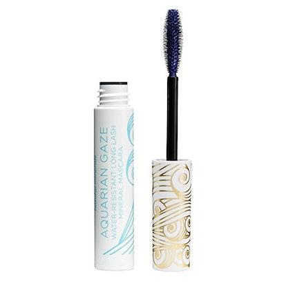 Pacifica Beauty Aquarian Gaze Water Resistant Long Lasting Mineral Mascara, Deep (blue)