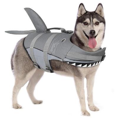 Petacc Shark Dog Life Preserver