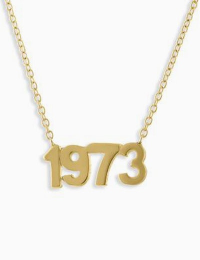 1973 Gold Necklace
