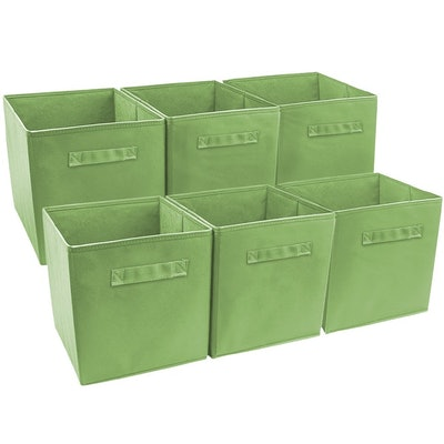 Sorbus Foldable Storage Cube (6 Pack)