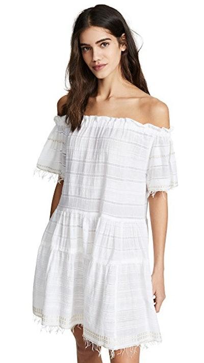 Lemlem Kelali Off Shoulder Dress