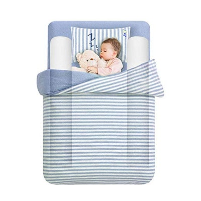 Tebery Toddler Bed Rail Bumpers
