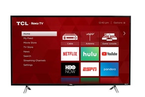 TCL 32-Inch 720p Roku Smart LED TV