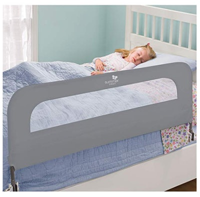 HOMESAFE Extra Long Folding Single Bedrail