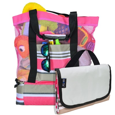 Raytix Beach Tote With  Built-In Picnic Cooler