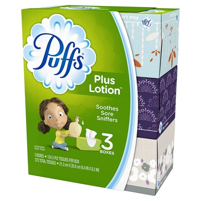 Puffs Plus Lotion (3-Pack)