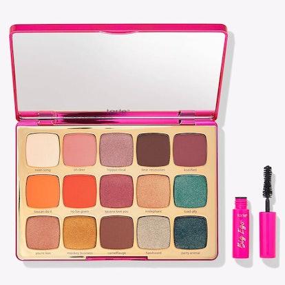 Unleashed Eyeshadow Palette & Travel-size Big Ego Mascara