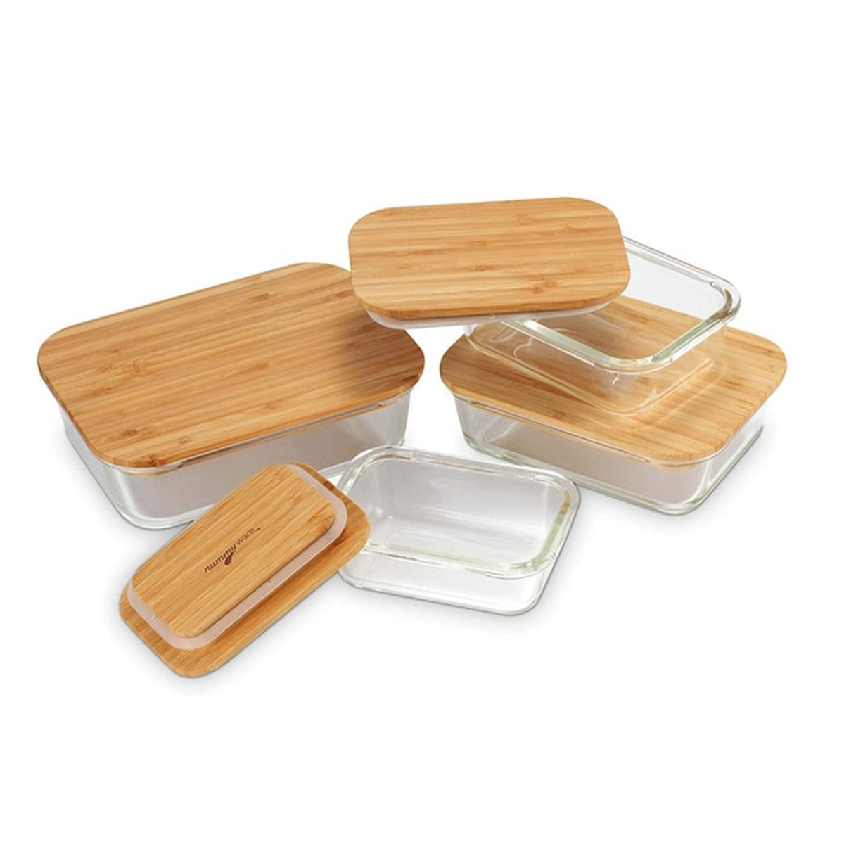 Nummyware Plastic-Free Food Containers (Set of 4)