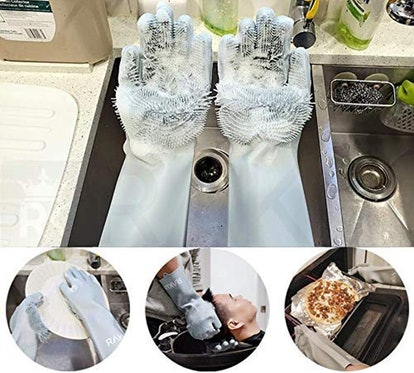 Rakia Magic Silicone Dishwashing Gloves
