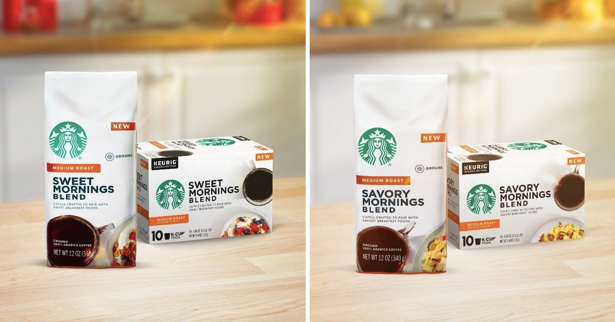 Starbucks' Perfect Pairings K-Cups Are Tailored To Your Favorite Breakfast Foods