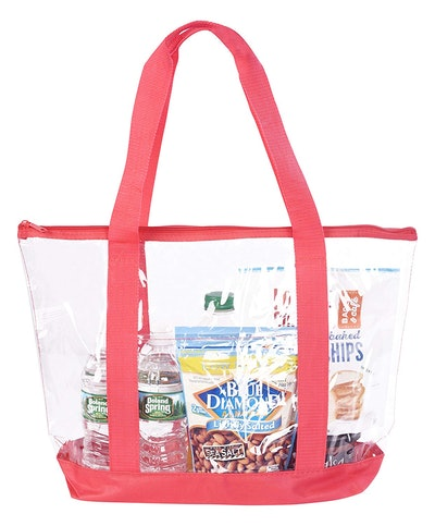 Bags For Less Large Clear Vinyl Tote