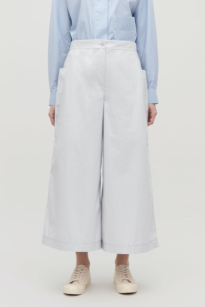 Lightweight Wide-Leg Trousers