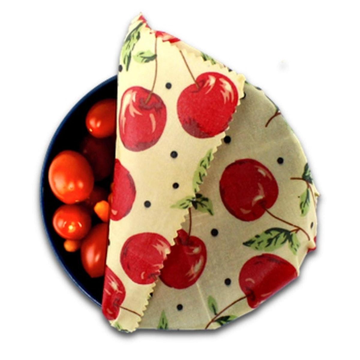 Savvy Planet Reusable Beeswax Food Wraps (Set Of 3)