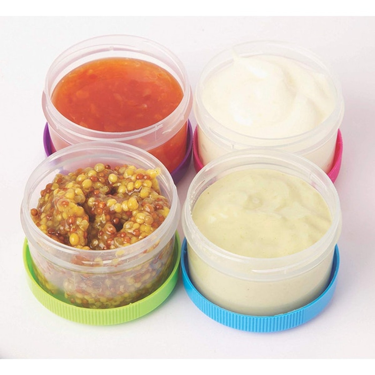 Sistema Salad Dressing Container (4 Pack)