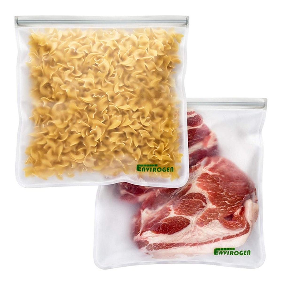 Envirogen Reusable Gallon Storage Bags (2-Pack)