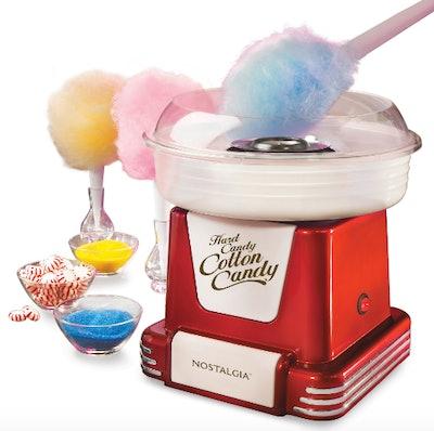 Retro Hard & Sugar-Free Candy Cotton Candy Maker