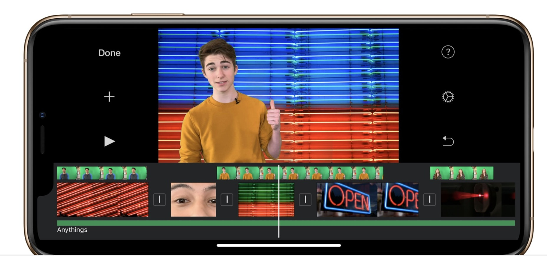 How To Use Imovie S Green Screen To Edit Videos On Your Iphone
