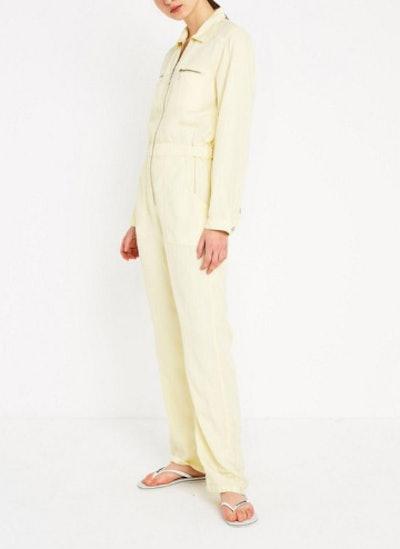 UO Victoria Zip-Front Jumpsuit