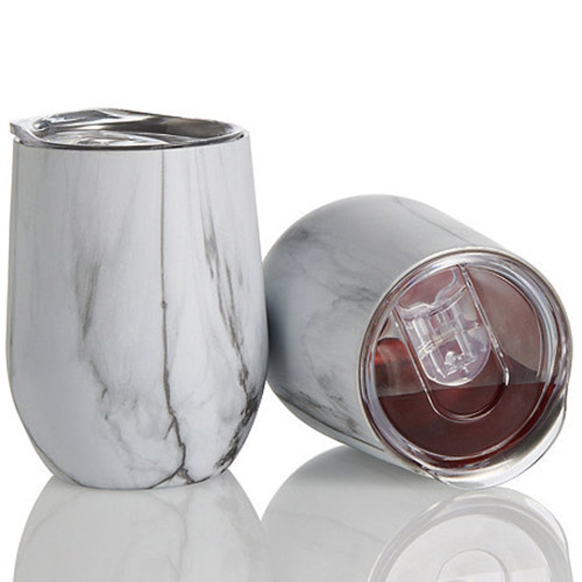 Insulated Stainless Steel Marble Tumblers